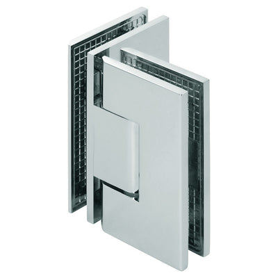 Glass-to-Glass 90° Hinge