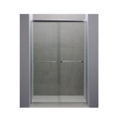3/8 Tempered Glass Shower Bypass Doors