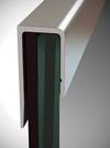 J-Channel Moulding Brite Anodized