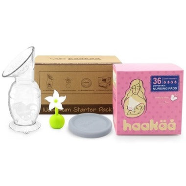 Haakaa Breast Pump New Mom Starter Kit