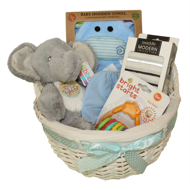 Custom Baby Gift Basket