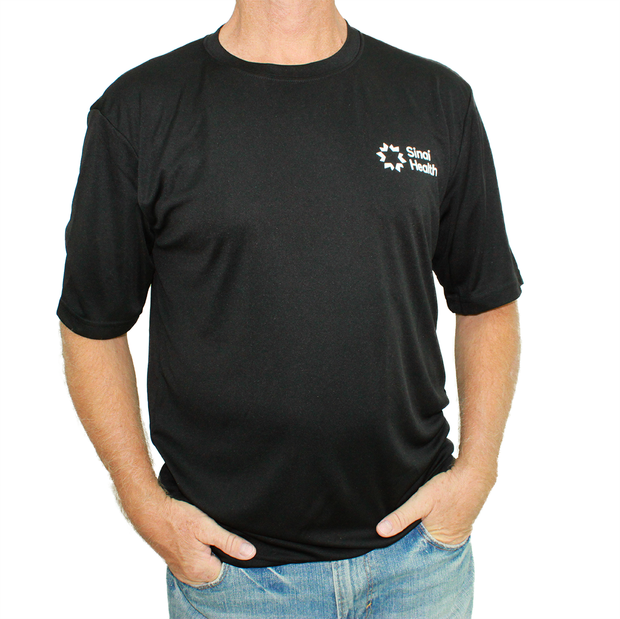 Sinai Health Men's Tech Tee (Black)