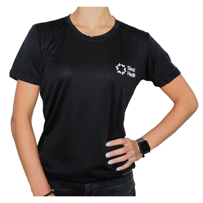 Sinai Health Women's Tech Tee (Black)