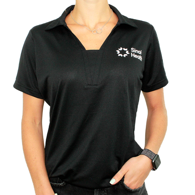 Sinai Health Women's Sport Polo (Black)
