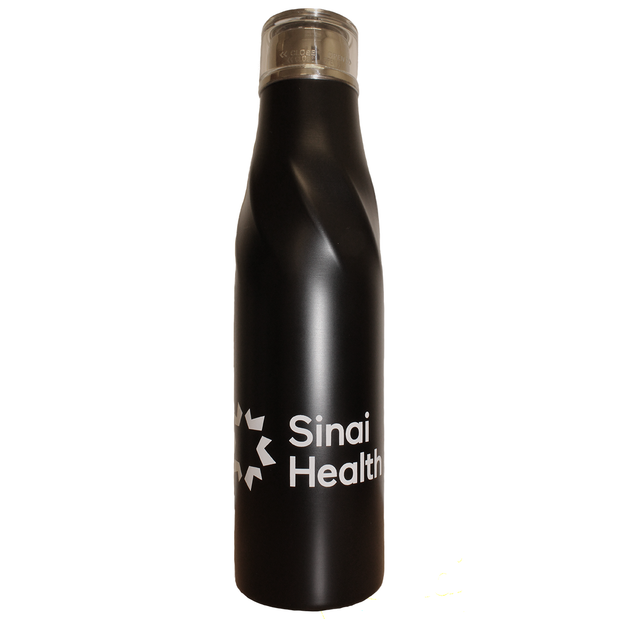 Sinai Health Tall Insulated Bottle (Black)