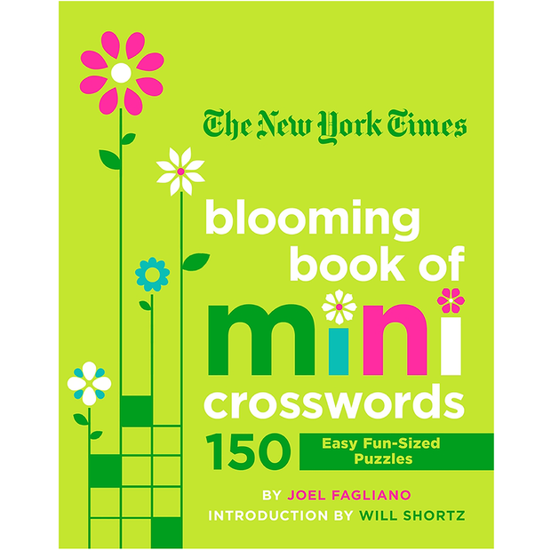 The New York Times Blooming Mini Crossword Book