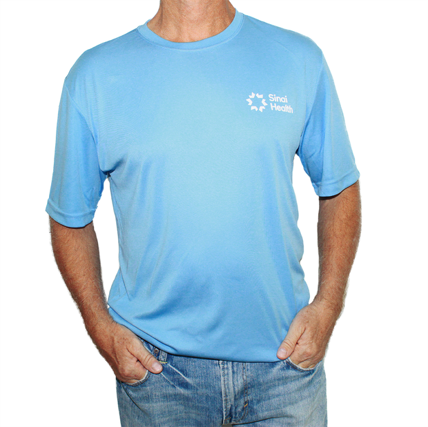 Sinai Health Men's Tech Tee (Blue)