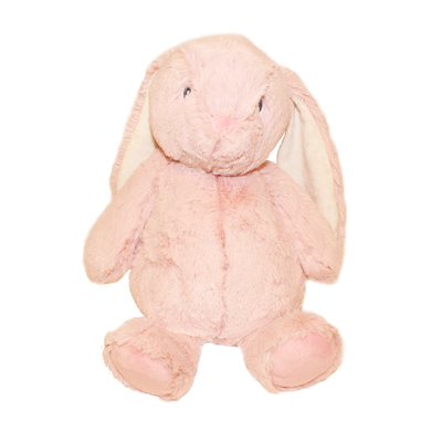 Plush Stuffed Animal Chunky Bunny (Pink)