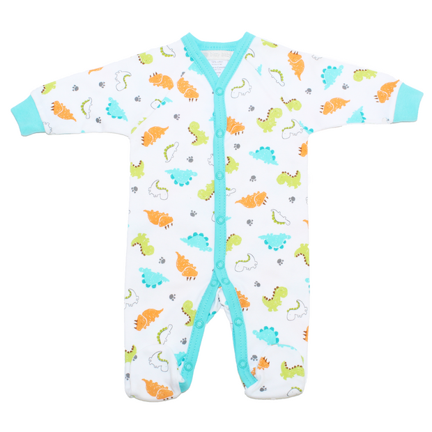 Itty Bitty Baby Preemie Footie Sleeper (Dino)