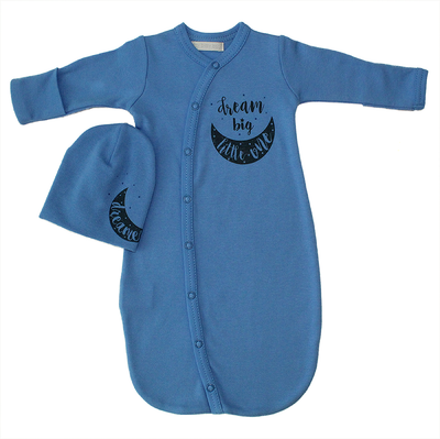 Itty Bitty Baby DREAM BIG Sleepsack (Denim)