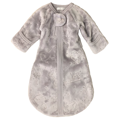 Itty Bitty Baby Plush Sleepsack (Grey)