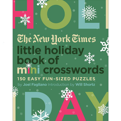 The New York Times Holiday Mini Crossword Book