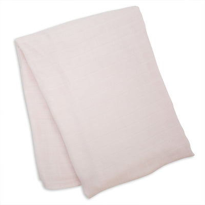 lulujo Bamboo Receiving Blanket (Pink)