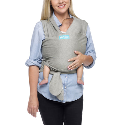Moby Classic Baby Wrap (Grey)