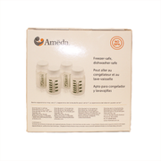Ameda Breast Milk Storage Bottles (Set of 4)
