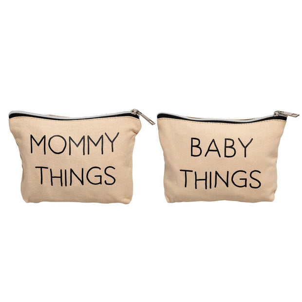 Mommy and Baby Travel Pouch