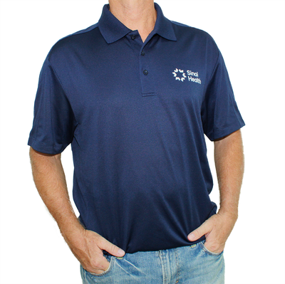 Sinai Health Men's Sport Polo (Navy)
