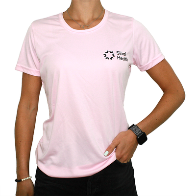 Sinai Health Women's Tech Tee (Pink)
