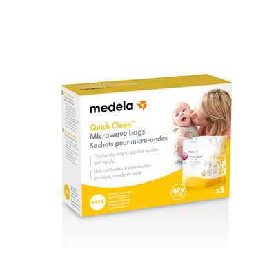 Medela Quick Steam Bags at The Sinai Shop