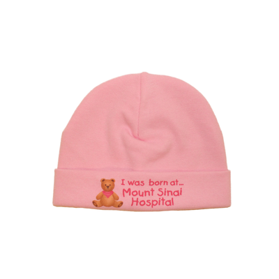 Itty Bitty Baby Mount Sinai Toque (Pink)