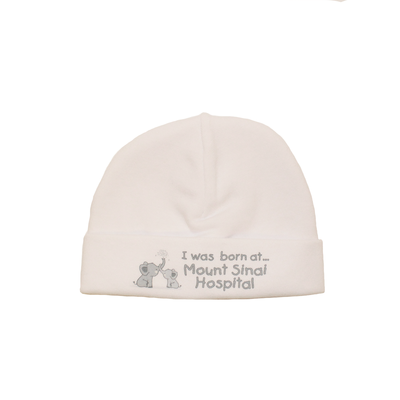 Itty Bitty Baby Mount Sinai Toque (White)