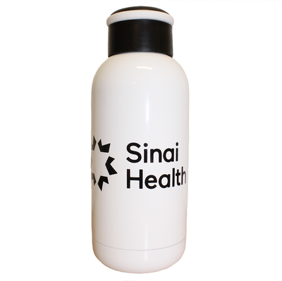 Sinai Health Mini Insulated Bottle (White)