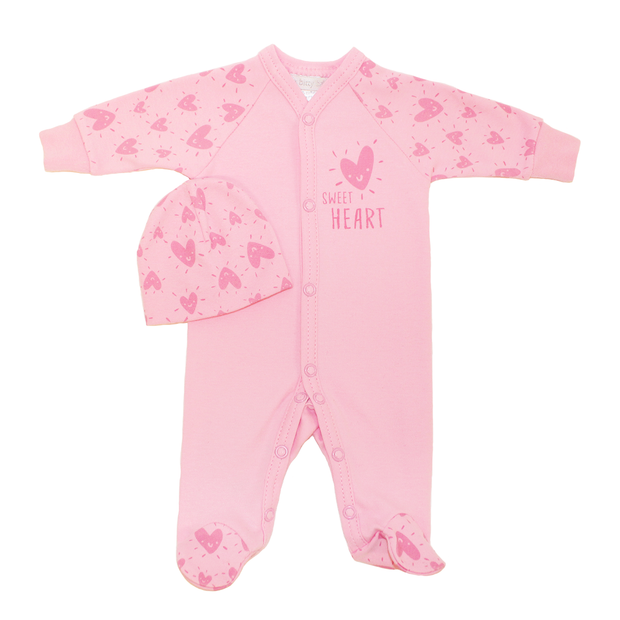 Itty Bitty Baby Sweetheart Footie Set