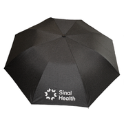 Sinai Health Windproof Folding Umbrella (Charcoal Heather)