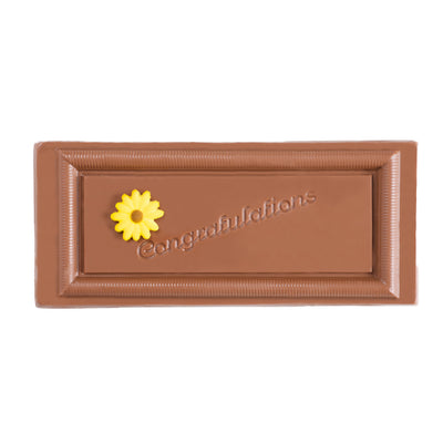 Congratulations Plaque (Milk Chocolate)