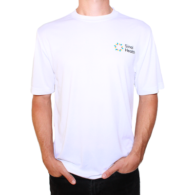Sinai Health Men's Tech Tee (White)