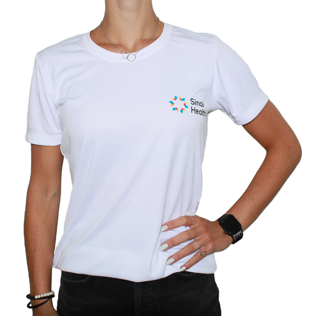 Sinai Health Women's Tech Tee (White)