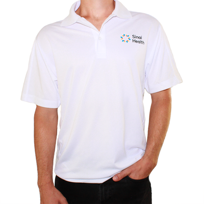 Sinai Health Men's Sport Polo (White)