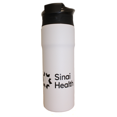 Sinai Health Insulated Tumbler (White)