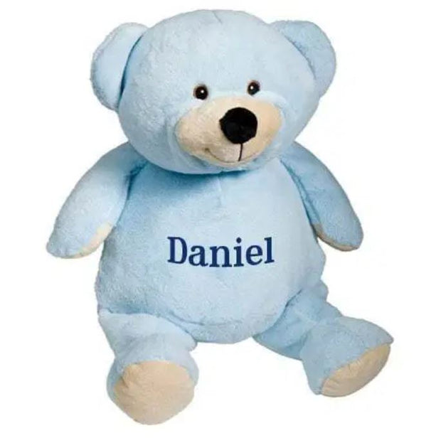 Personalized Stuffed Animal - Blue Teddy Bear