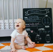 Pearhead All About Baby Chalkboard