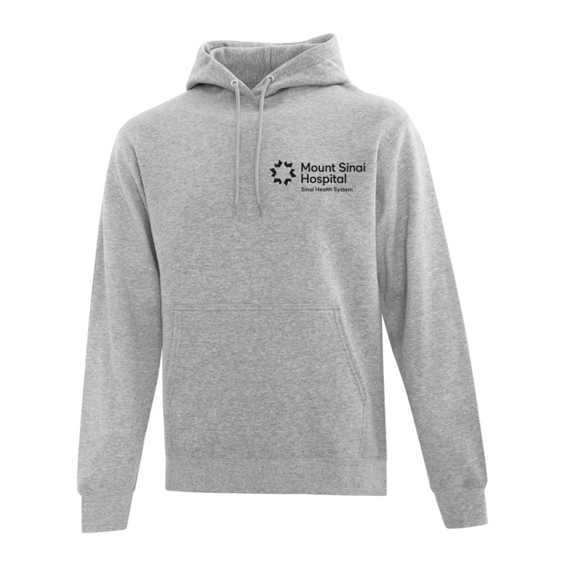 Mount Sinai Hospital Branded Pullover Hoodie Sweatshirt (Grey)