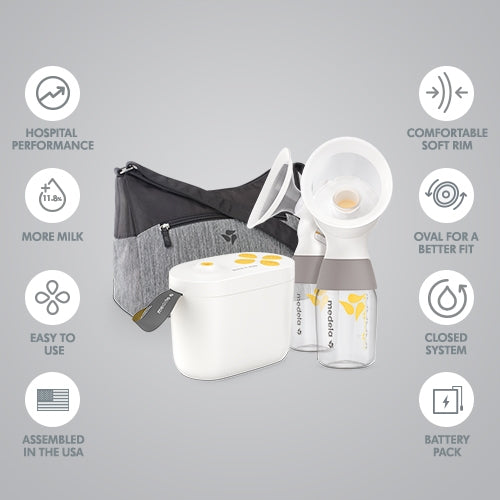 Medela Pump In Style With MaxFlow Breast Pump with FREE EASY EXPRESSION BUSTIER