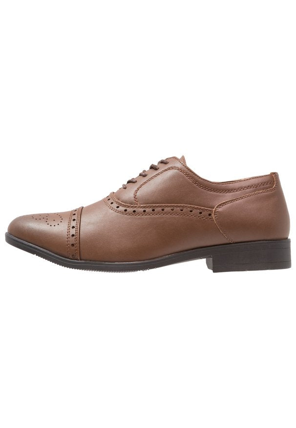 TOECAP OXFORD TAN