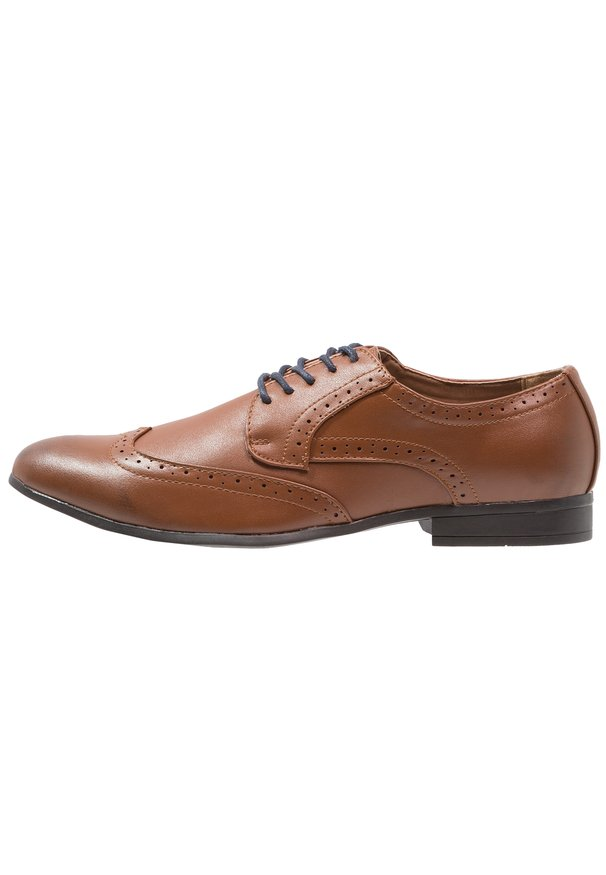 WIN CAP BROGUE TAN