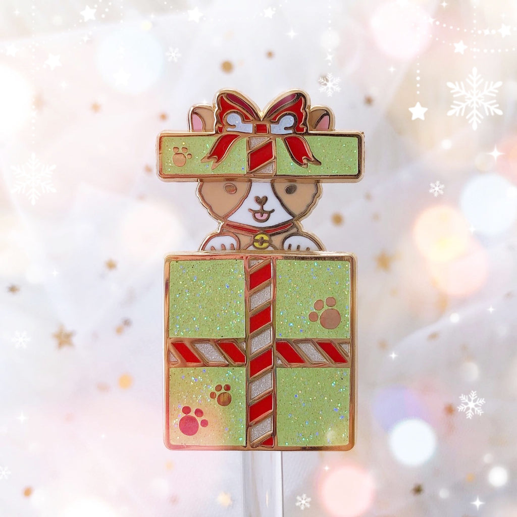 Corgi Gift Slider Pin