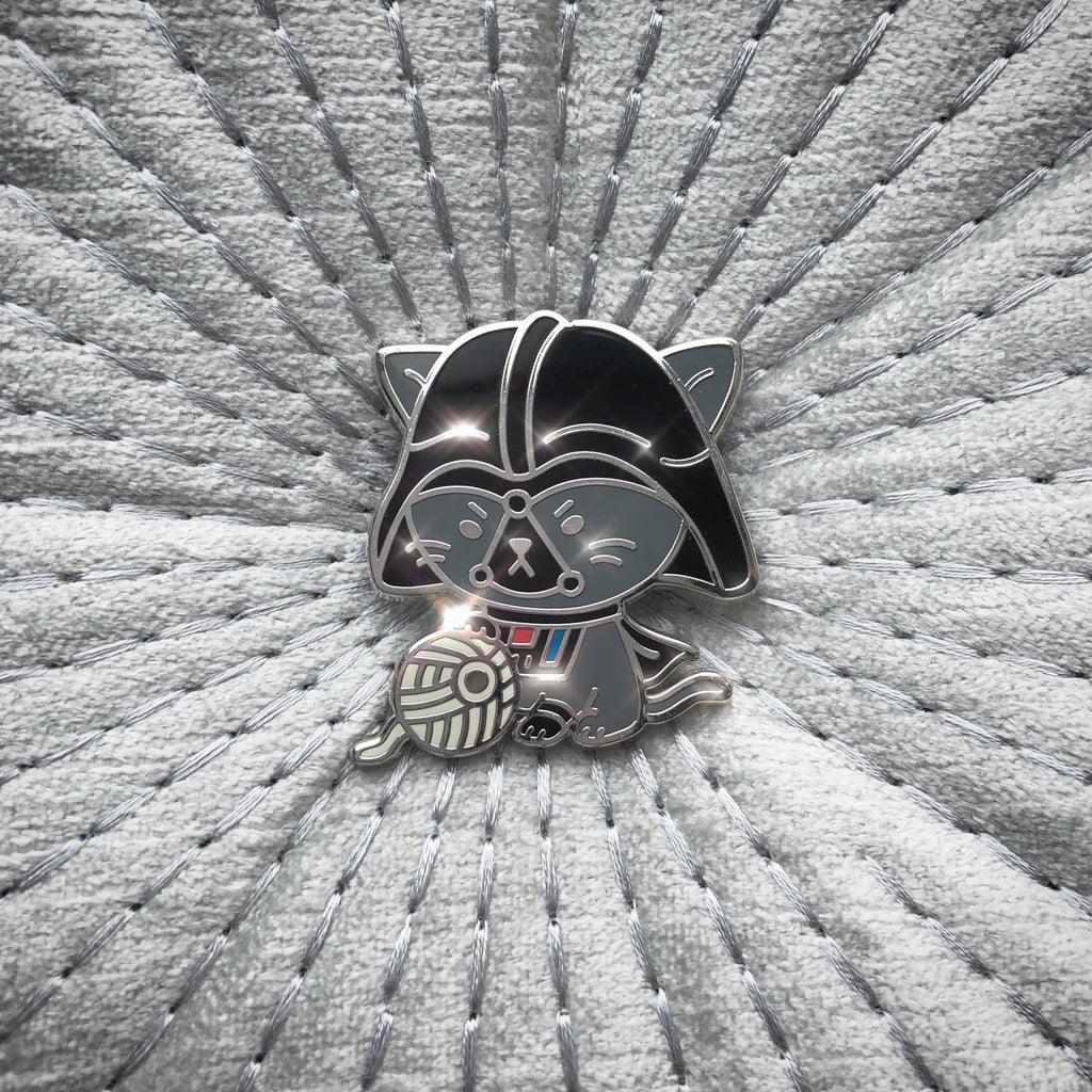 Darth Meow Pin