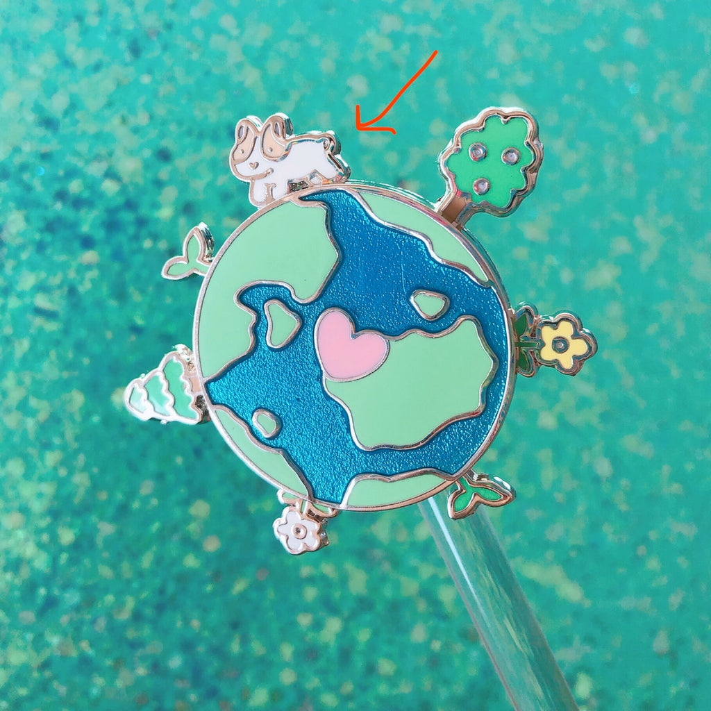 SECONDS Earth Day Pin