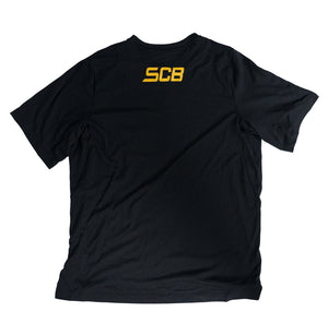 SCB Black Athletic T-Shirt
