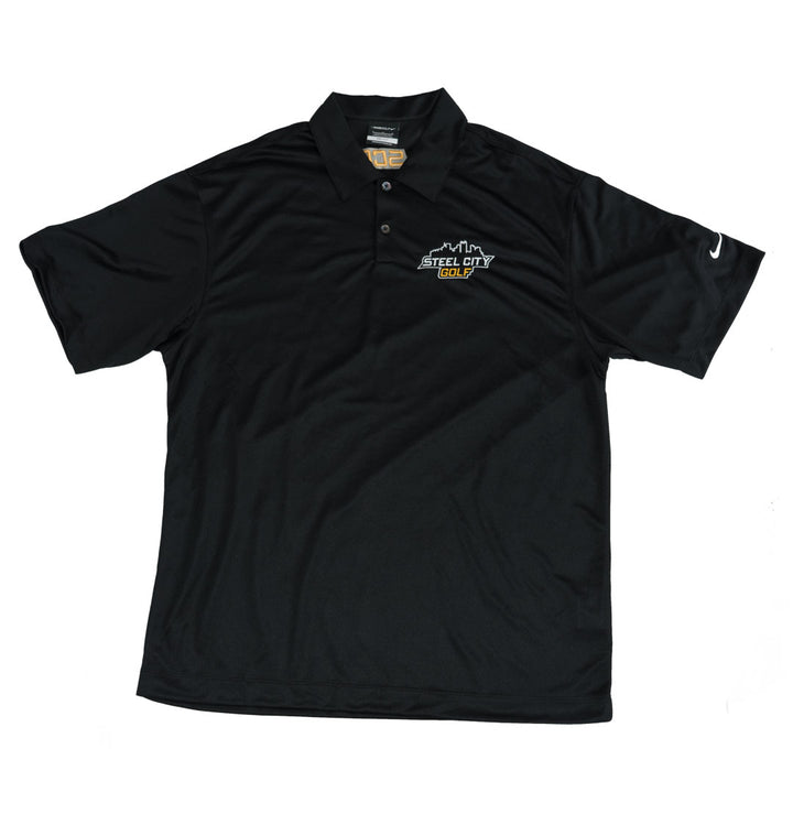 SCG Black Nike Polo