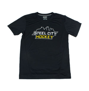 SCH Black Athletic T-Shirt