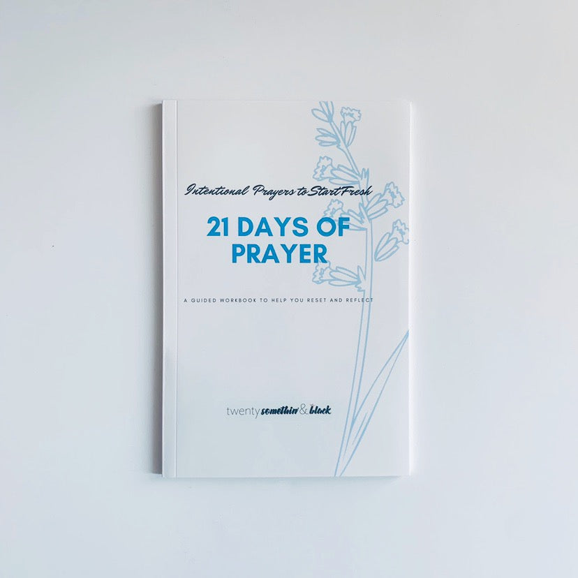 21 Days of Prayer: Daily Devotional Journal