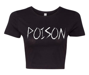 """Poison"" Crop Top"