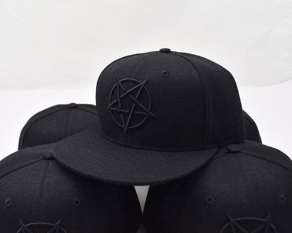 Pentagram Hat Fitted 58cm