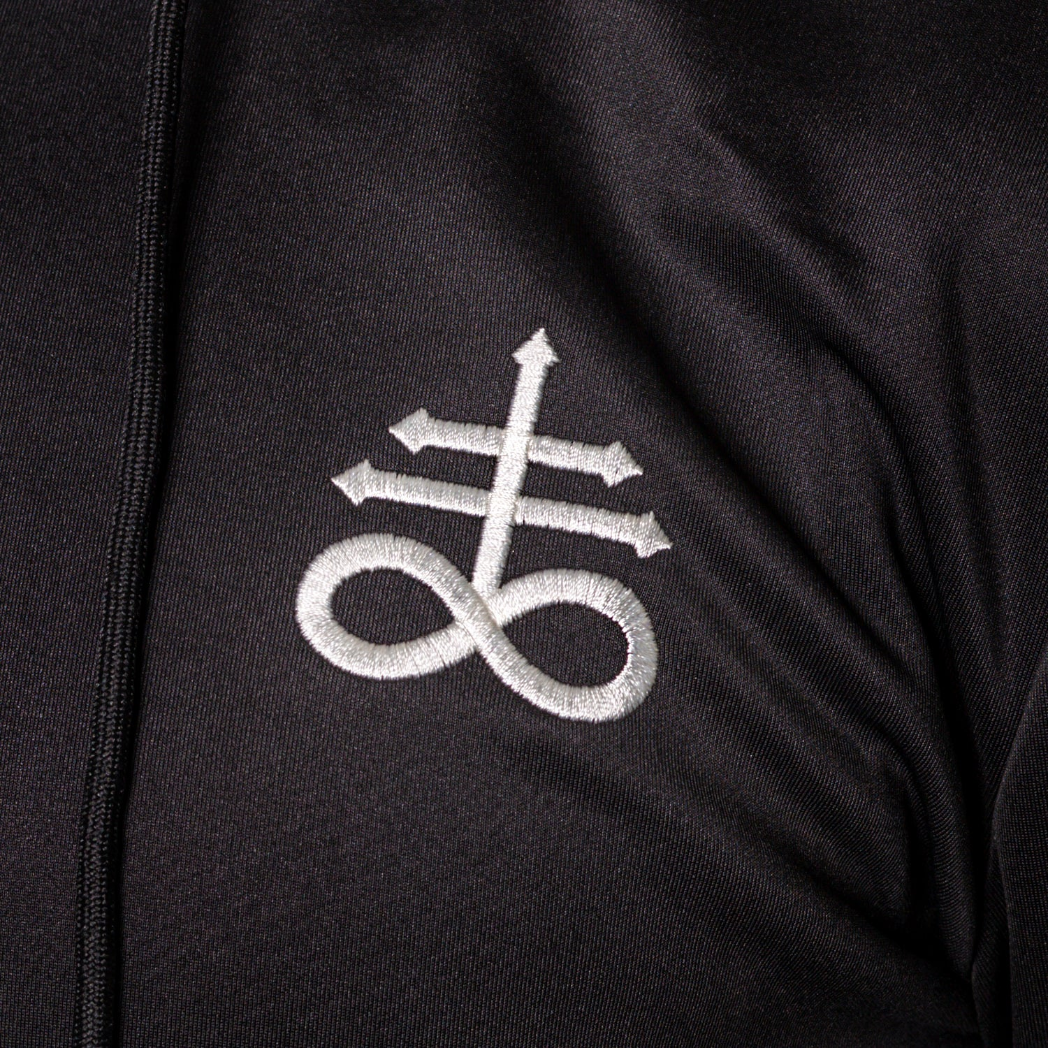 Leviathan Cross Hooded Athletic Longsleeve