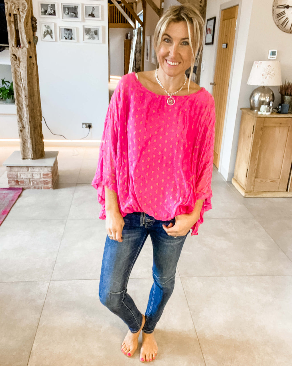 Pink Molly Blouse